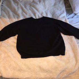 Gildan Sweaters - Halsey Badlands Black Crewneck Sweater Size Large